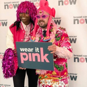 Stewart McDonald MP supports Breast Cancer Now Wear It Pink campaign