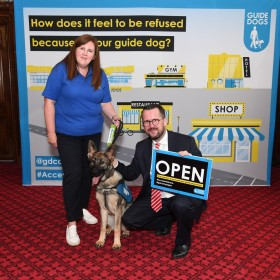 """No one should be turned away because of their assistance dog"", says MP"